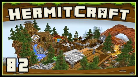 Hermitcraft 4  Minecraft Completing The Base's Upper