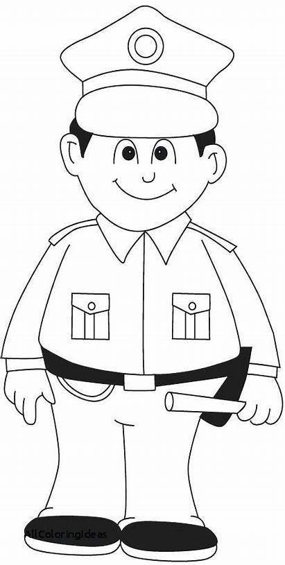 Coloring Police Pages Lego Policeman Printable Getcolorings