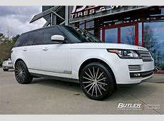 Land Rover Range Rover with 22in Lexani Pegasus Wheels
