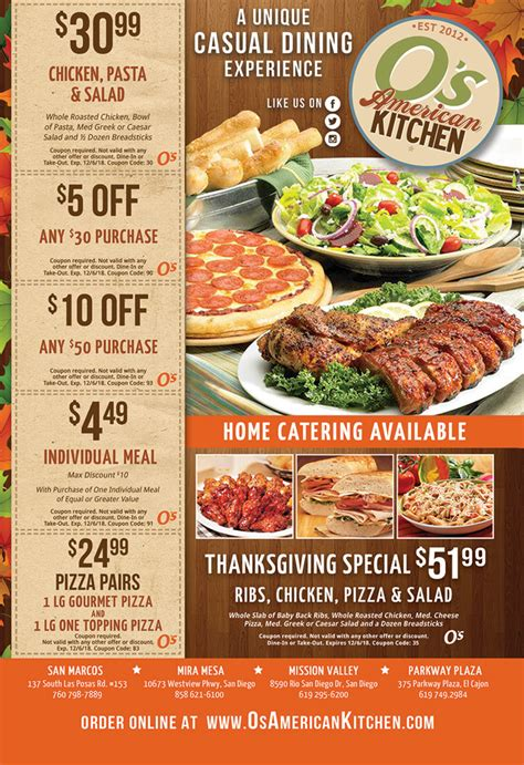 Kitchen On Coupon by Os American Kitchen Coupons Couponshy