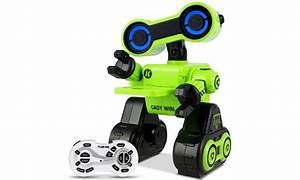 Costway Remote Control Rc Robot Intelligent Programmable