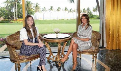 melania trump reveals greatest gift  give  children meeting wife  venezuelas guaido wadnews