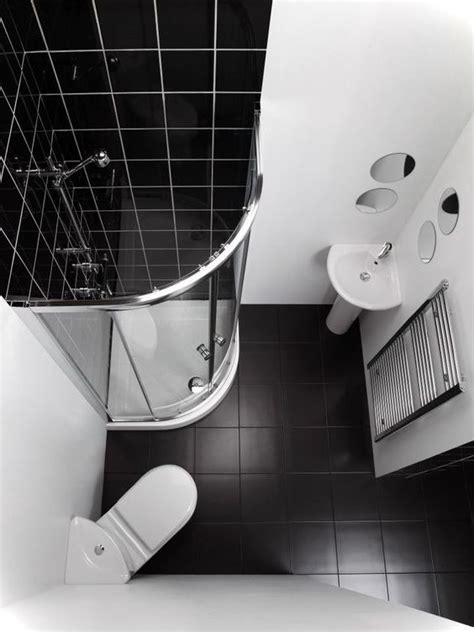 Small Bathroom Black And White by Tiny Bathroom Ideas For Small House Birdview Gallery