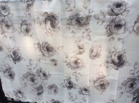 details  ikea aggersund shower curtain rose floral