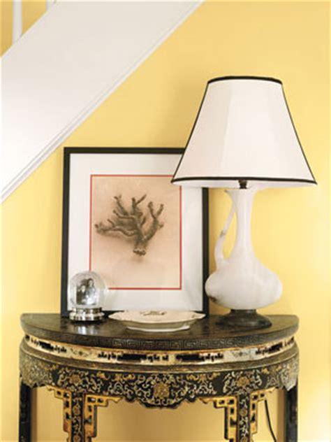 benjamin moore hawthorne yellow interiors  color