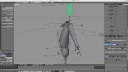 Rig Rigify Blender Protruding Move Inside Faces