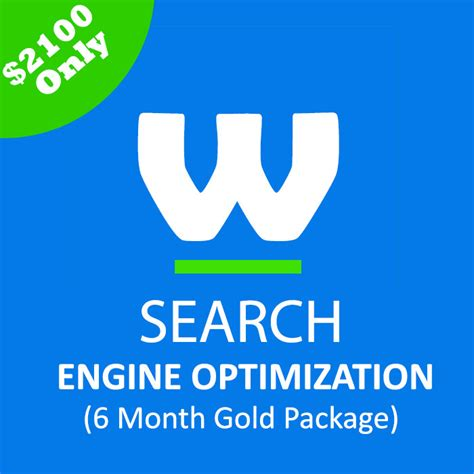 search engine optimization 6 month gold package webtady - Search Engine Optimization Packages