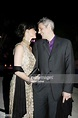 French actress Sophie Marceau and husband producer Jim ...