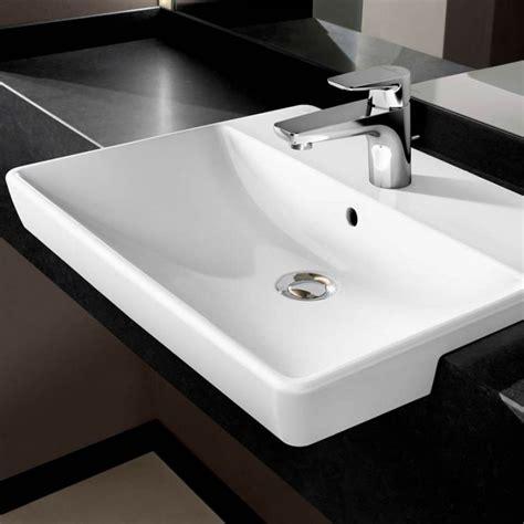 villeroy boch avento villeroy boch avento slimline semi recessed washbasin uk bathrooms