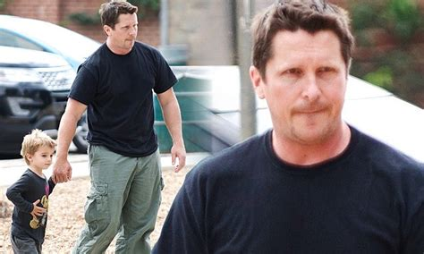 Weighty Role Bulked Christian Bale Takes His Three