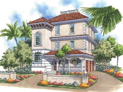 Eplans Italianate House Plan