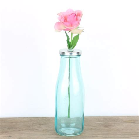 shabby chic vases wedding retro flower vase shabby chic wedding rustic set glass pink blue green ebay
