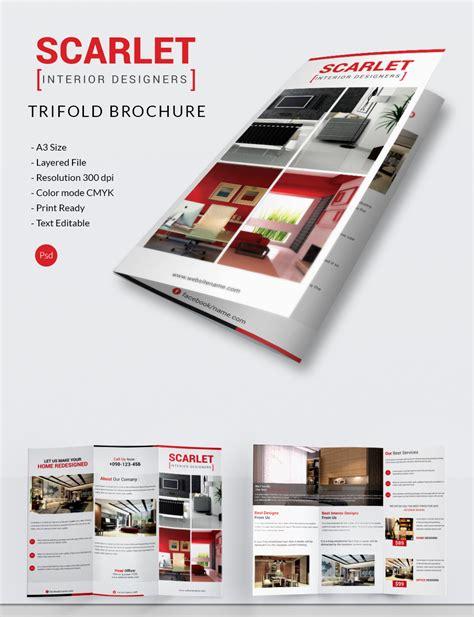 Brochure Template Design by Interior Design Brochure 25 Free Psd Eps Indesign
