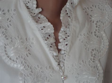 white cotton blouse gift idea pretty charming things