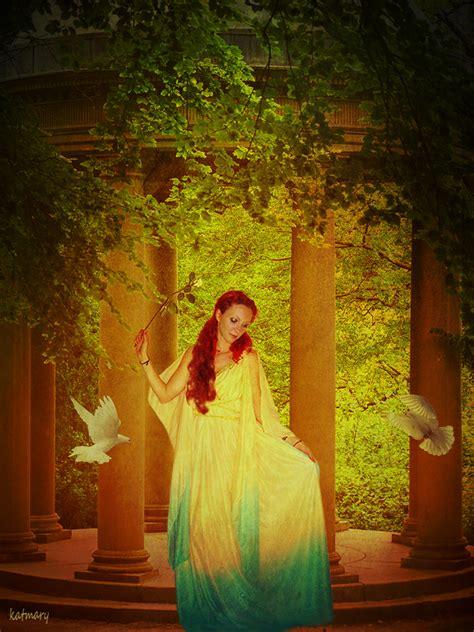 Nature Goddess By Katmary On Deviantart