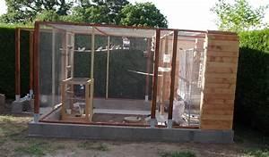 Bache Transparente Pour Terrasse : ma voliere exterieur exotiques ~ Dailycaller-alerts.com Idées de Décoration