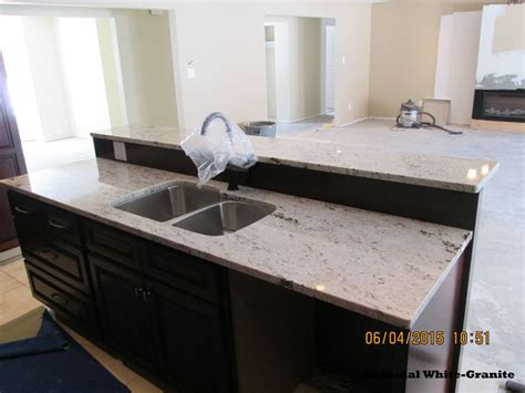 oak kitchen cabinets for 8 best colonial white granite images on 7128