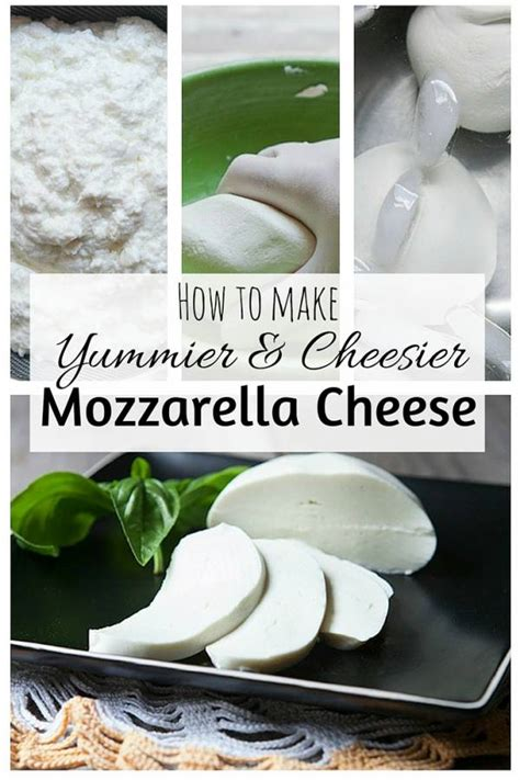 yummier  cheesier mozzarella cheese