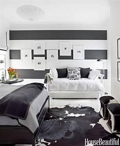 Black, And, White, Designer, Rooms