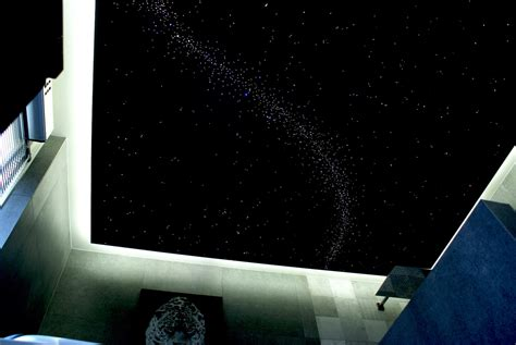 etoile chambre plafond plafond ciel étoilé fibre optique led plafonnier mycosmos