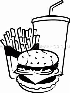 Fast Food   Production Ready Artwork for T-Shirt Printing