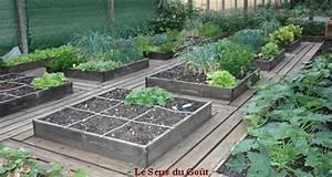 Jardin En Carré : un potager en carr le sens du go t ~ Premium-room.com Idées de Décoration
