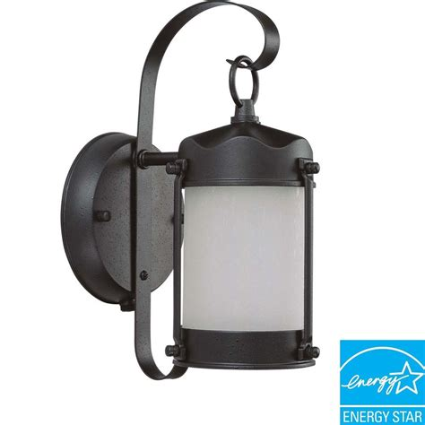 glomar 1 light outdoor textured black fluorescent wall