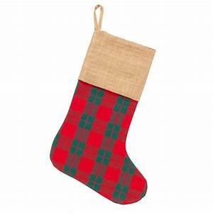 plaid christmas stocking monogrammed christmas stockings With plaid christmas stockings with letters