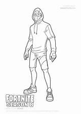 Fortnite Coloring Ikonik Iconic Draw Skin Season Drawing Dessin Coloriage Ausmalbilder Step Coloringpages Drawingtutorial Dibujos Malvorlagen Imprimer Zum Skins Tutorial sketch template