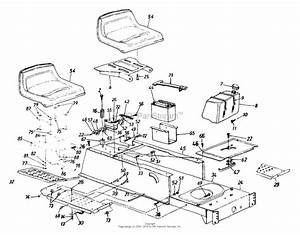 Mtd 13a6673g118  1999  Parts Diagram For Seat  Fuel Tank