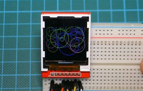 using the st7735 1 8 quot color tft display with arduino electronics lab