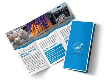 Brochure Wash Options Template Fold Tri Templates