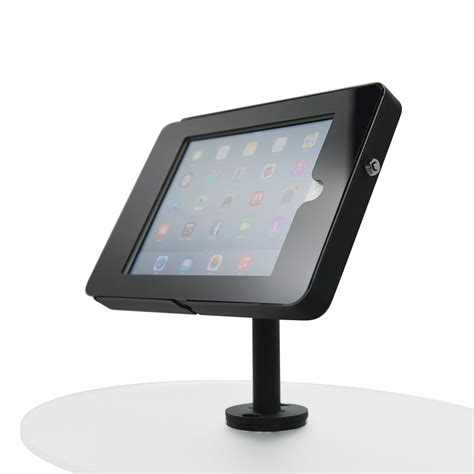ipad kiosk table mount techno space ipad stands tablet display stands