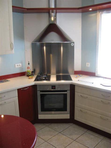 cuisine avec plaque de cuisson en angle cuisine avec angle table de cuisine d angle 8 meuble