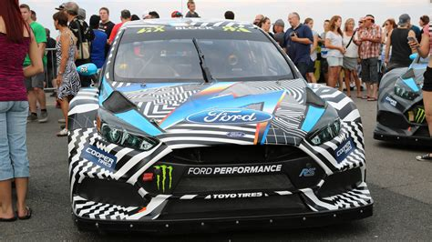 Focus Rs Rx by Ford Focus Rs Rx Shows Rallycross Car S Development