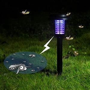 Led Outdoor Lampe : hot mosquito killer solar power led lamp outdoor garden yard lawn walkway lamps bug insect light ~ Markanthonyermac.com Haus und Dekorationen