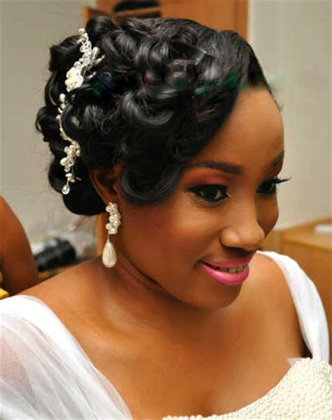 Nigerian Bridal Hairstyles   nigerian bridal hairstyles