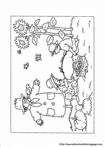 Coloring Pages Nature Preschool Worksheets Printable Educational