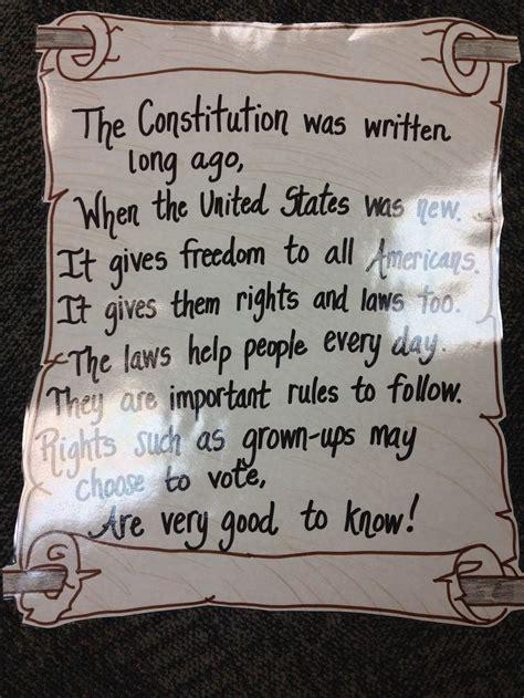 constitution social studies elementary  grade