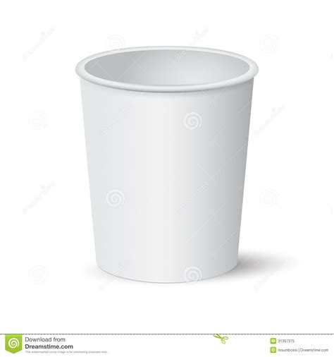 Paper Cup Royalty Free Stock Photo   Image: 31357375