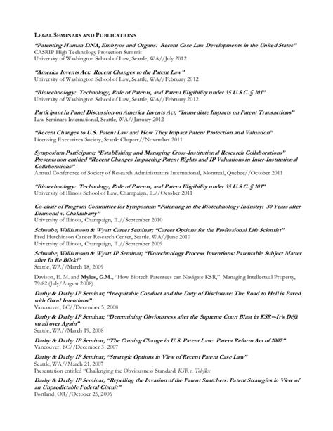 What Does Patents And Publications On A Resume by Scientific Phd Resume