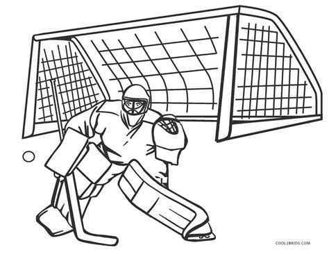 printable hockey coloring pages  kids coolbkids
