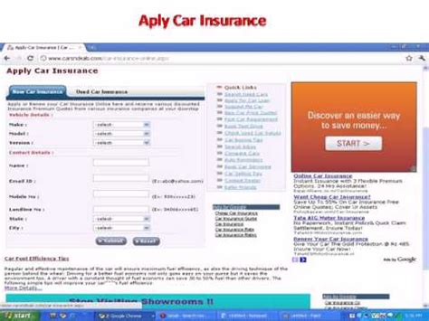 Car Insurance Premium by Car Insurance India Apply Car Insurance Premium