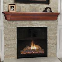 fireplace mantel shelves Pearl Mantels Lindon Traditional Fireplace Mantel Shelf - Fireplace Mantels & Surrounds at Hayneedle