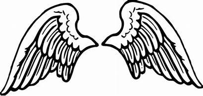 Wings Halo Angel Clip Clipart Cartoon Vector