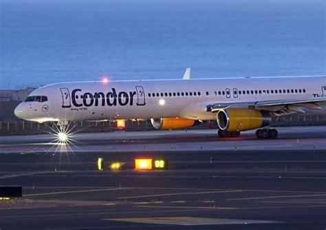Un vol de la companyia Condor protagonitza un aterratge d
