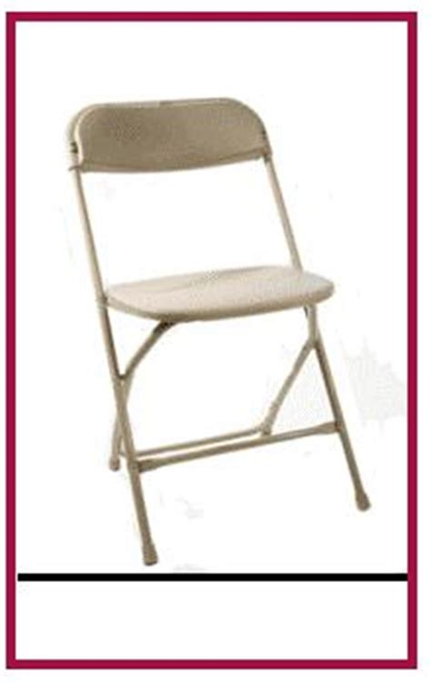 beige folding chair supplies san diego jumpers for rent