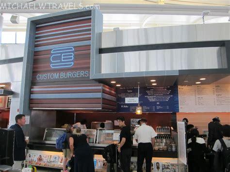 Newark Airport Food Review Custom Burgers