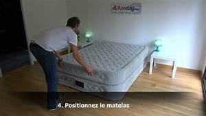 Matelas Intex 2 Personnes : matelas gonflable intex supr me bed 2 personnes youtube ~ Melissatoandfro.com Idées de Décoration