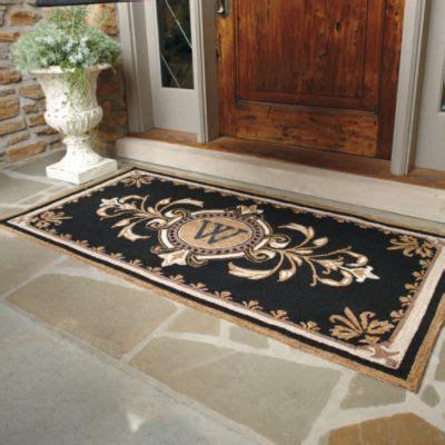 Front Door Mats Indoor by Huntington Monogrammed Entry Mat Home Decor Ideas